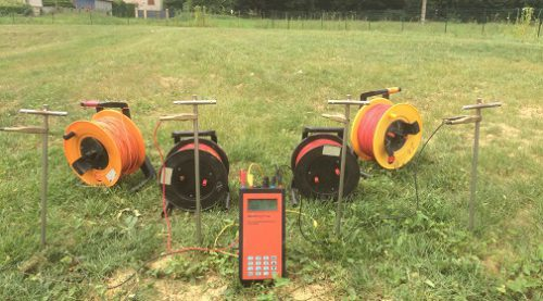 Resistivity/IP meter 4point light 10W